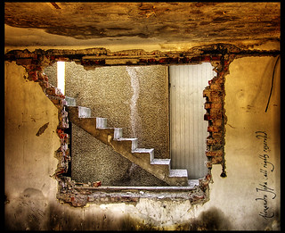 stairway through window wall | by Alexandru J.