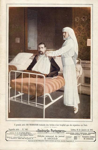 Ilustração Portugueza, No. 465, January 18 1915 - cover