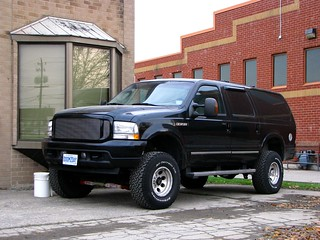 Lifted Ford Excursion | by MSVG