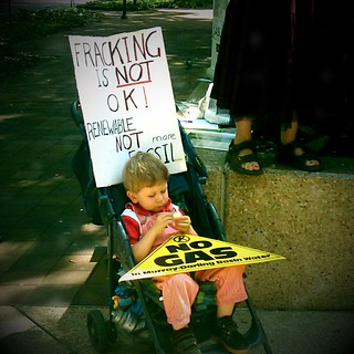 Fracking is Not OK! | by Erland Howden