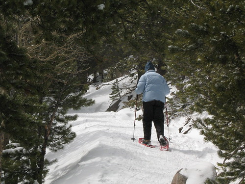 Mary Loves Snowshoeing | by ElCapitan