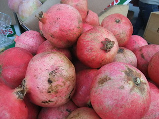 SFO Day 2: Pomegranates from the Ferry Plaza Farmers Market | by swampkitty