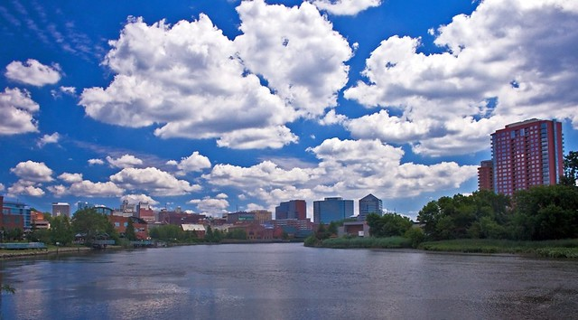 Wilmington Delaware Skyline