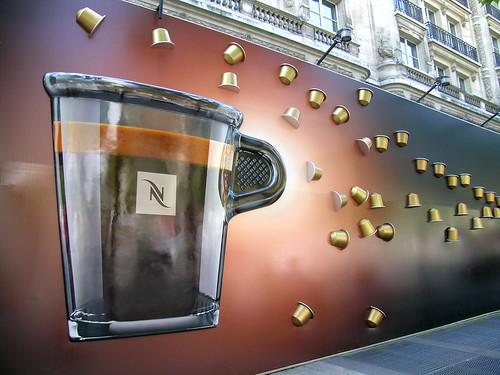 nespresso champs paris france the nespresso boutique o flickr. Black Bedroom Furniture Sets. Home Design Ideas