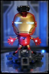 """Iron Man"" LED Keyring 