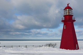 Phare de La Martre Lighthouse, Gaspesie, Quebec, Canada | by Dany_M