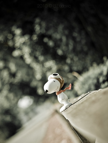 Snoopy, The Flying Ace | by ludoviς