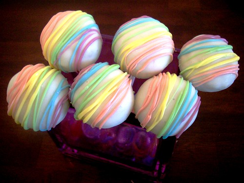 Rainbow Cake Pops | by Kim C. (NJ)