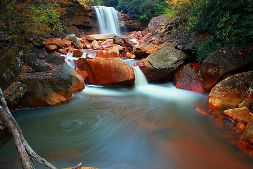 long-exposure-autumn-waterfalls | by ForestWander.com