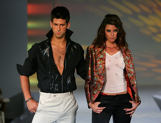 Novak Djokovic at the ATP Tennis fashion show in Montreal. | by ask curly