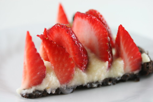 Thin Mint Strawberry Mascarpone Pi | by Food Librarian