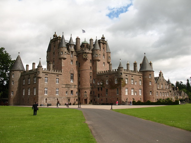 Best castles in Scotland - Glamis Castle