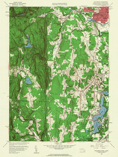 Southwick Quadrangle 1958 - USGS Topographic Map 1:24,000 | by uconnlibrariesmagic