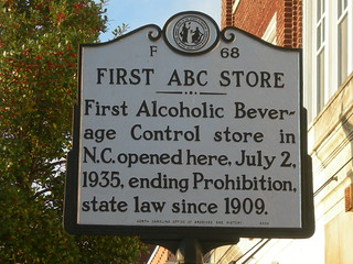 First NC ABC Store Marker | by jimmywayne
