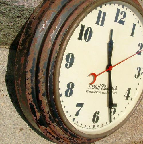 Vintage 60 S Train Station Clock Old Train Station Clock