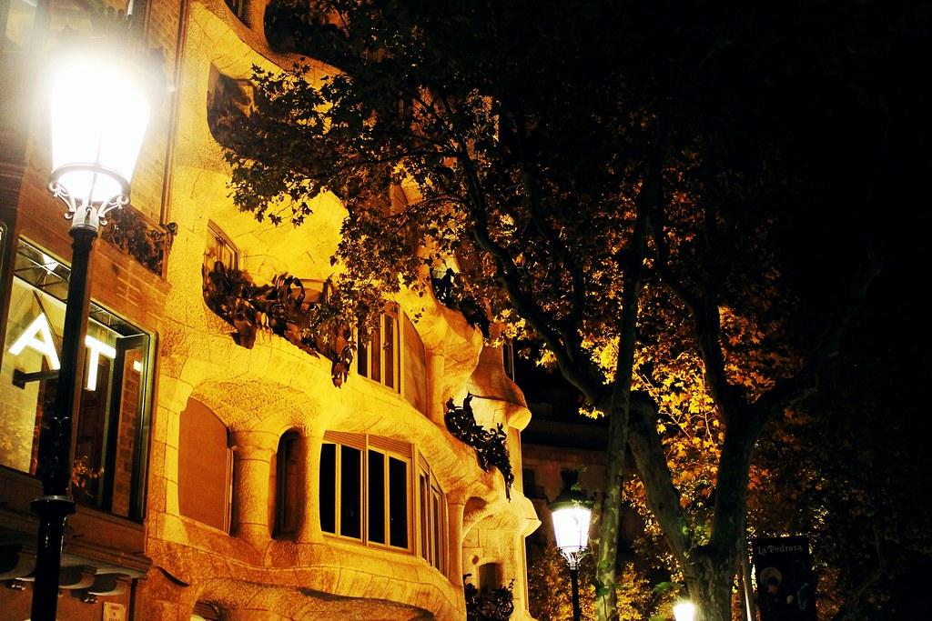 Drawing Dreaming - visitar Barcelona - Casa Milà La Pedrera