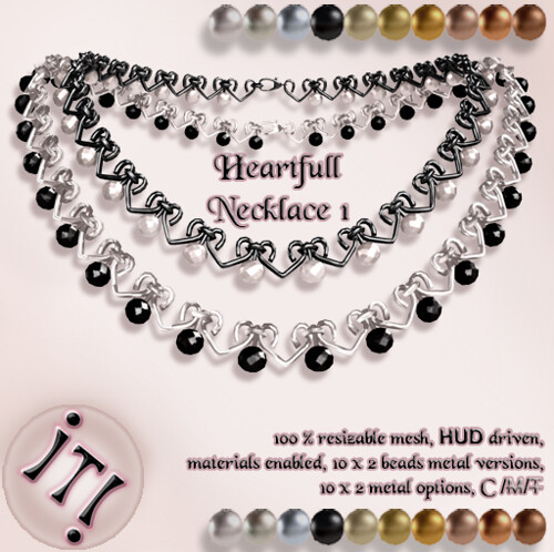 !IT! - Heartfull Necklace 1 Image