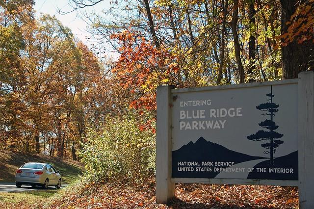 Roanoke Entrance to the Blue Ridge Parkway