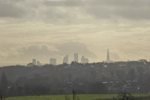 Looking towards London