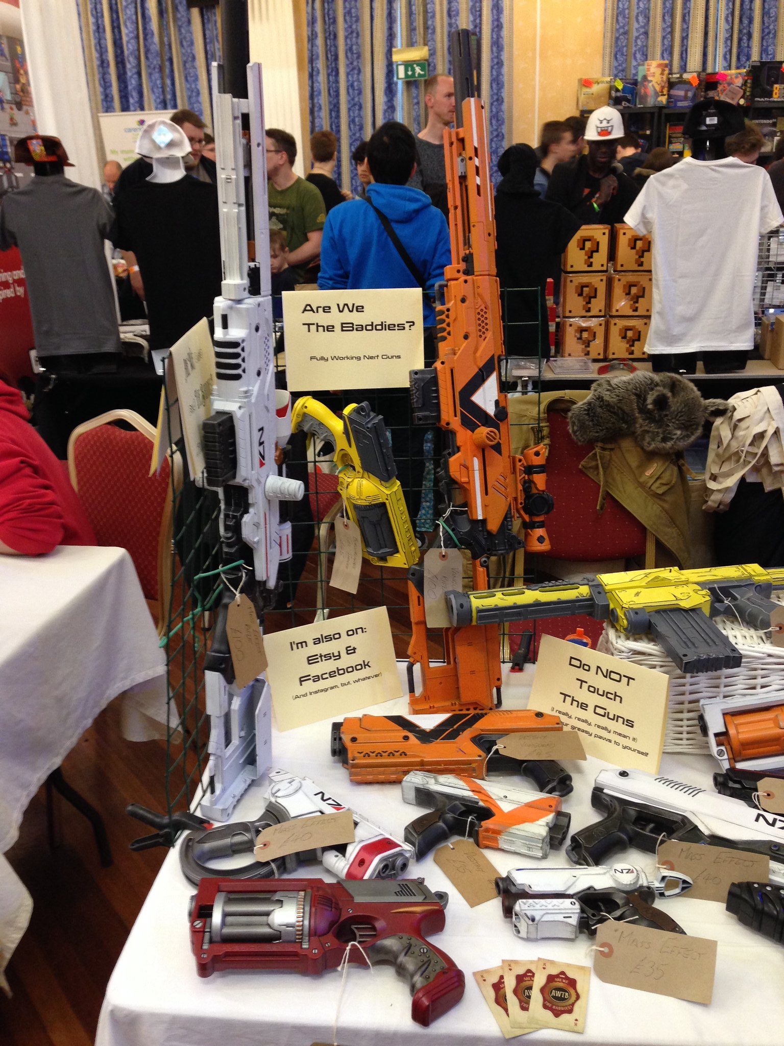 Replay Events Ltd 2016 PLAY Expo Blackpool Custom NERF by AWTB