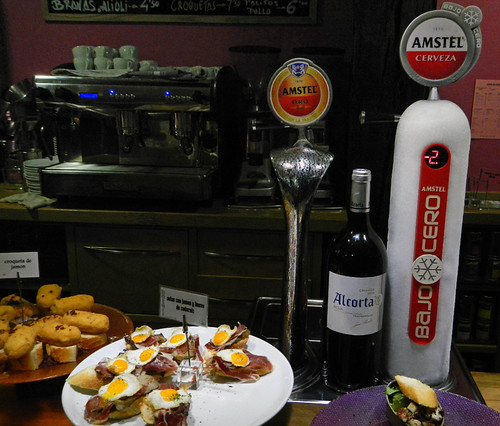 Pinchos (pintxos), a bar snack elevated to the highest form in Bilbao, Spain