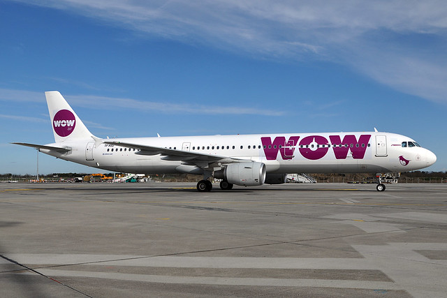 TF-KID  A321-211  WOW Air