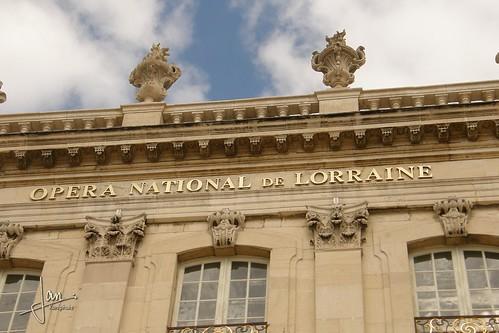 Nancy france opera national de lorraine rue sainte for Rue catherine opalinska nancy