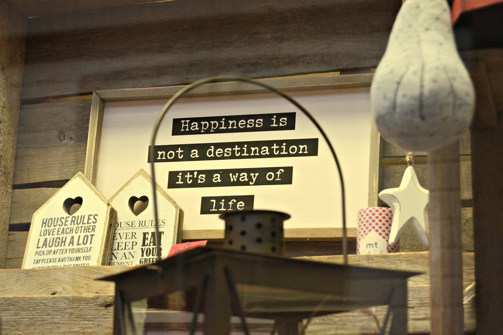 Happiness is not a destination – it's a way of life!