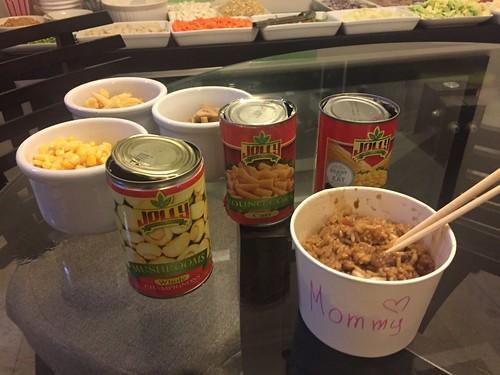 Gary's Mongolian dinner