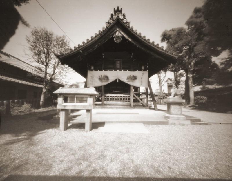 日本名古屋上飯田羊神社