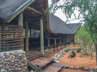 Hauptgebäude Ongava Tanted Camp