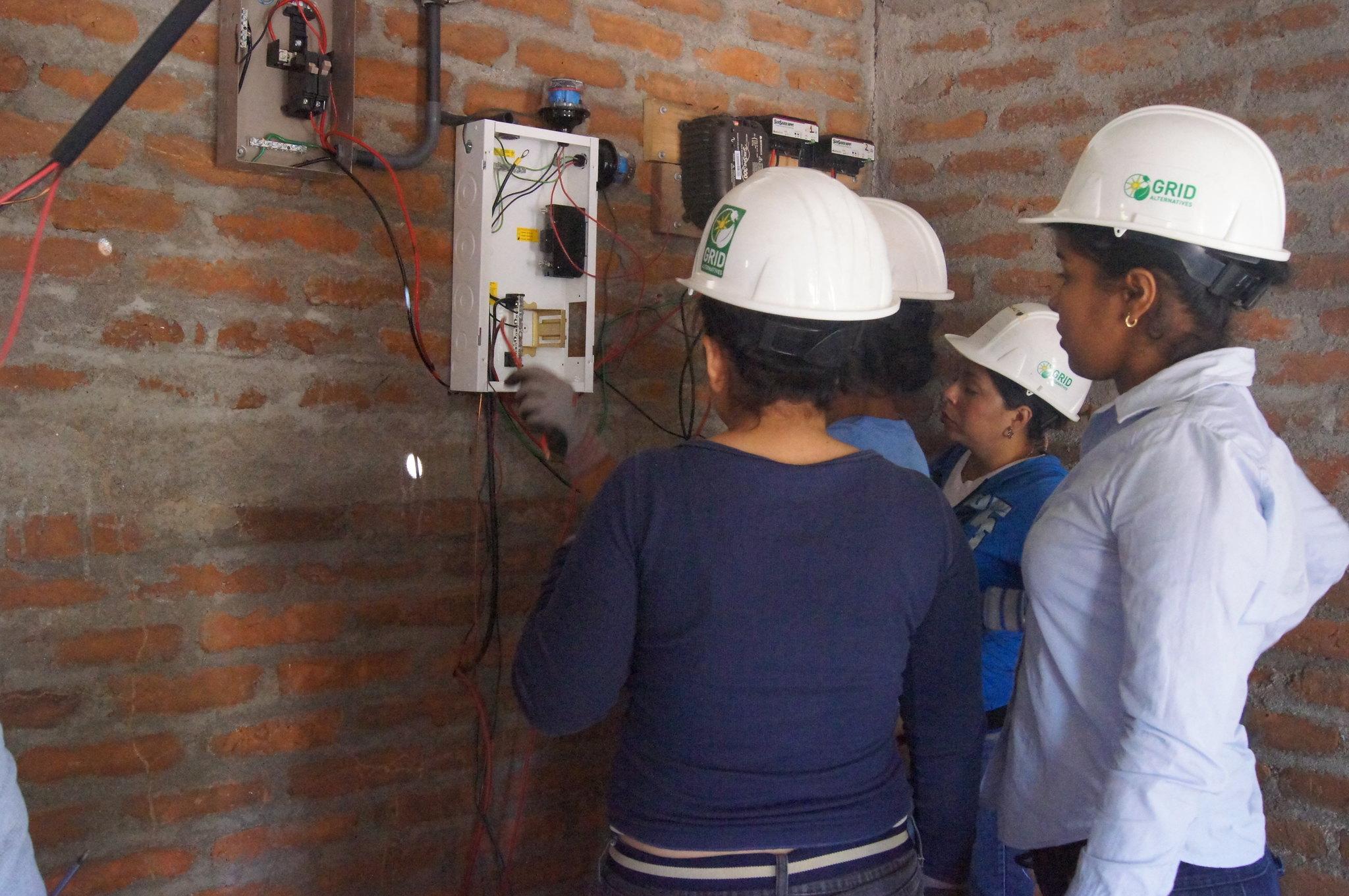 GRID Alternatives providing solar power to rural communities around the world