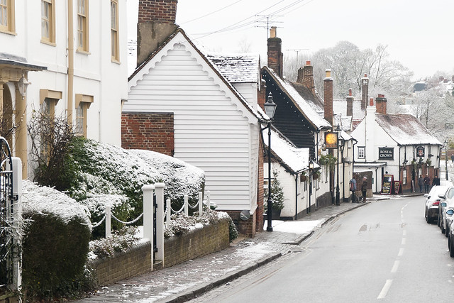 Snow in St Albans