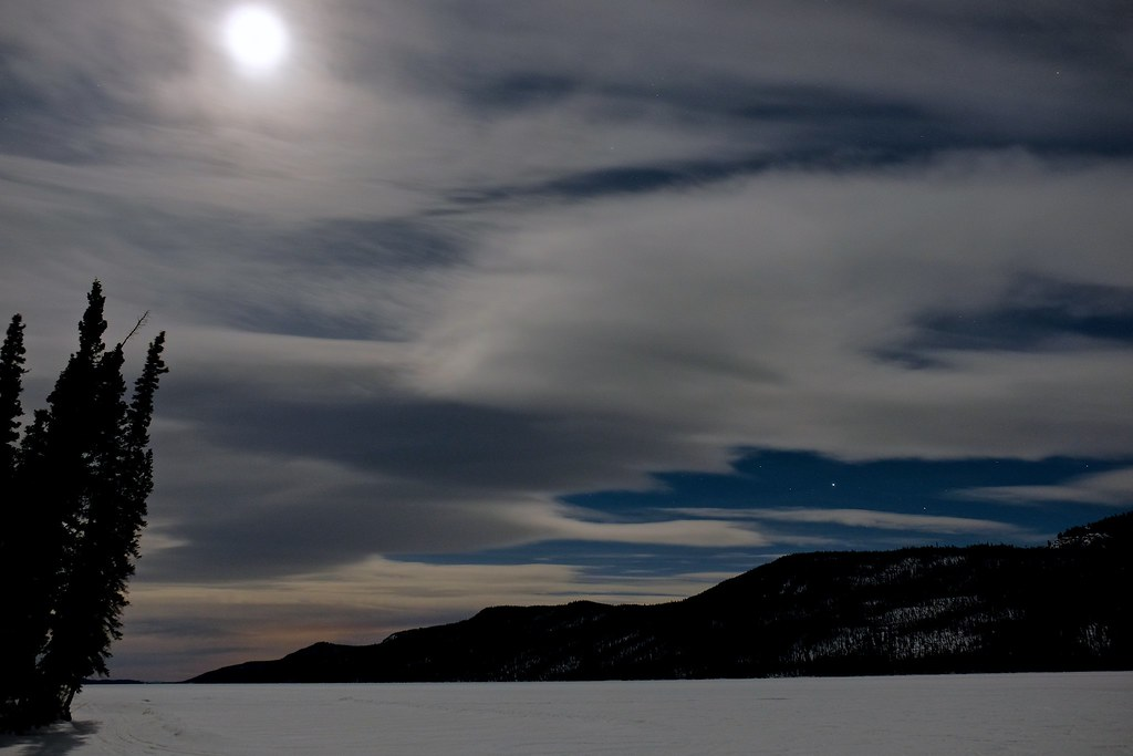 Nighttime at Big Fox Lake