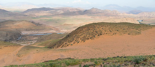 Blick vom Lookout auf Kunene River