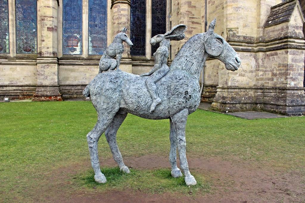 Las esculturas de Sophie Ryder