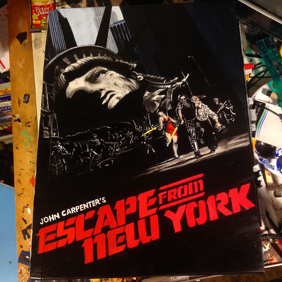 Escape from New York custom VCR by Sorce CodeVhs