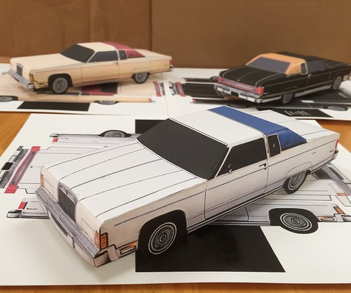 ebay templates for sale - for sale on ebay template for 1977 lincoln paper craft car