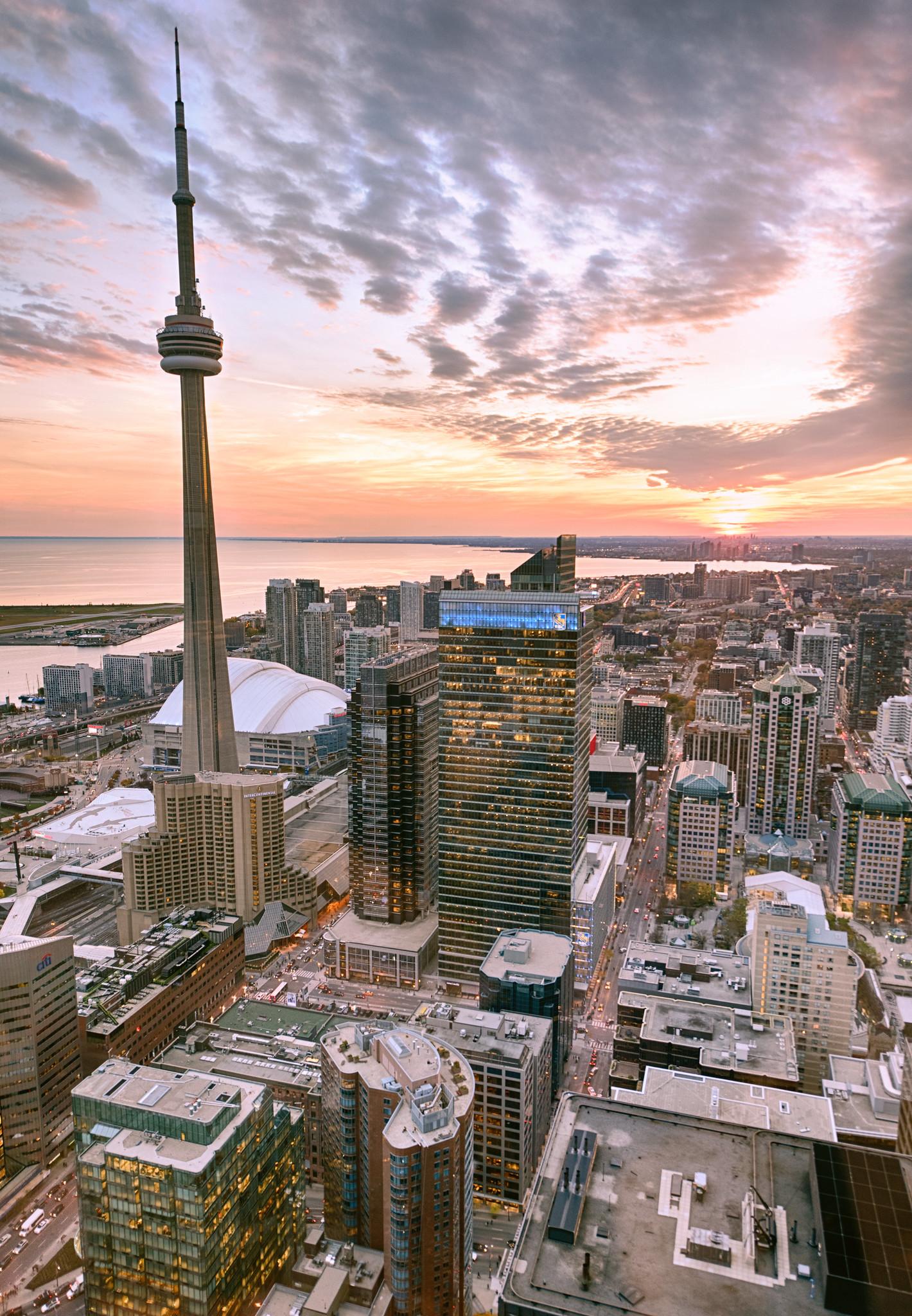 Toronto Dusk Skyline