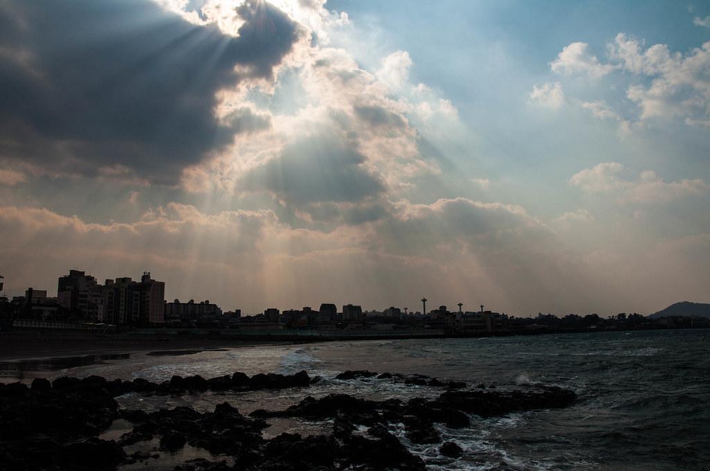 삼양 검은모래 해변