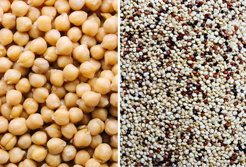 chickpea & quinoa salad