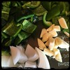 #PuertoRican #Recaito #homemade #CucinaDelloZio - chop 'em and food processor