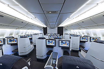 KLM B777-300ER World Business Class (KLM)