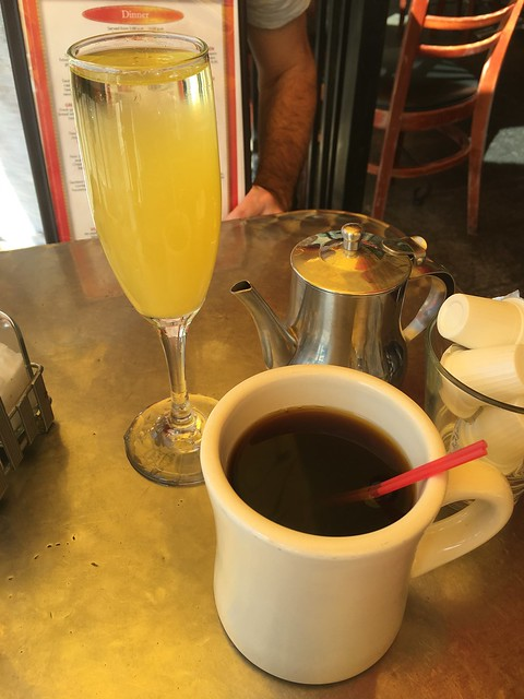Coffee and mimosa - Bongo Johnny's