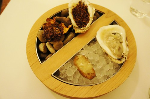 Oyster/Sunchoke