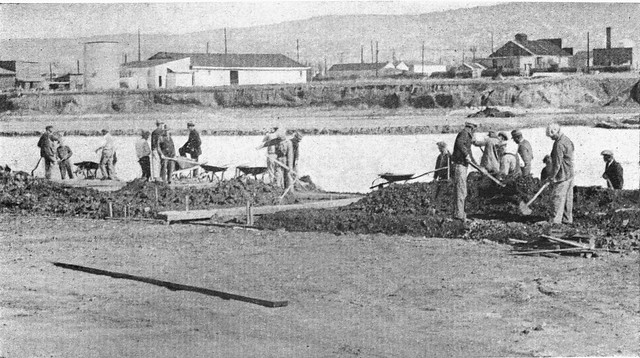 aquatic park construction berkeley 1935