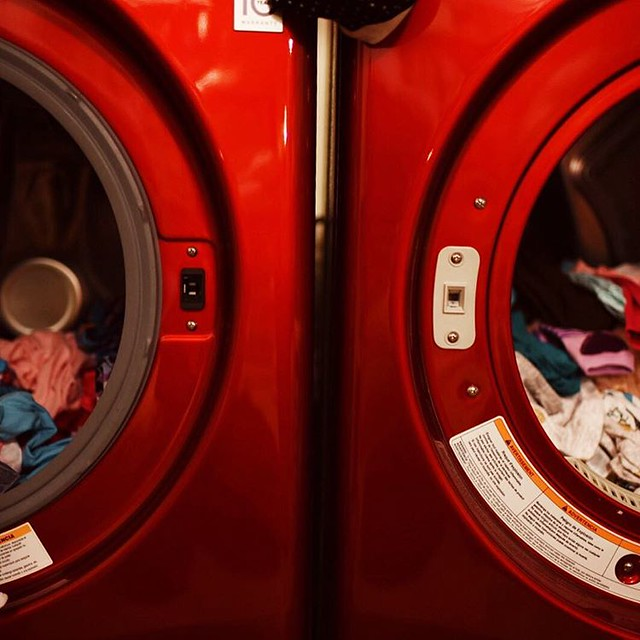 8:15 pm Laundry day is never ending. Two more loads to go! #adayinthelife #adayinthelifephotochallenge