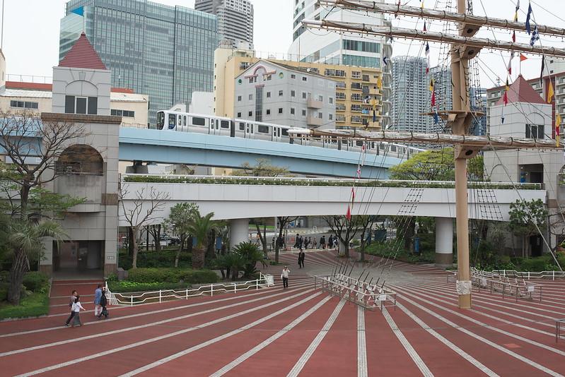 Tokyo Train Story ゆりかもめ 2016年4月10日