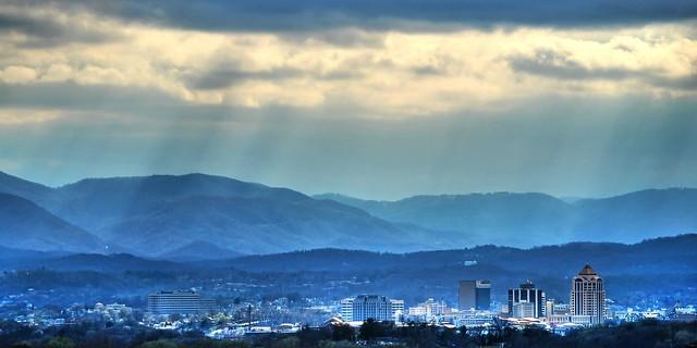 Roanoke Skyline