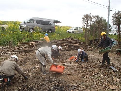 茨城県常総市でボランティア(関東・東北豪雨 ボランティアチーム援人 0327便)